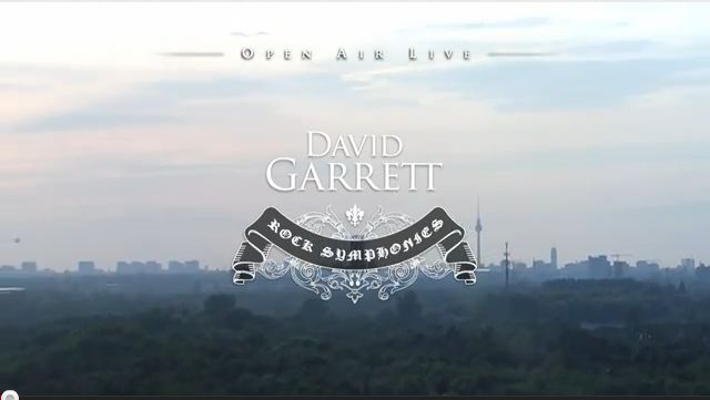 David Garrett Rock Symphonies - Open Air Live 2010